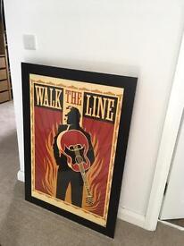 Walk The Line framed movie poster