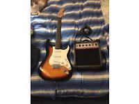 Electric Guitar starter pack.
