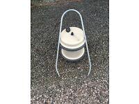 Aquaroll for caravan/motorhome with handle