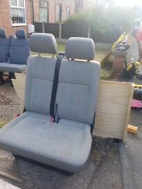 Double seats