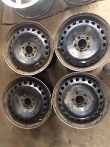 4 roue d acier 16 pouces volvo 5x108
