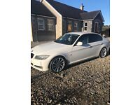 BMW 320d 3 series alpine white £20 year tax
