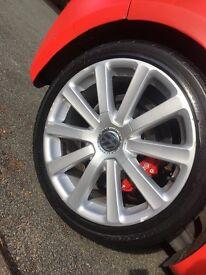 "Original Mk5 Golf R32 Alloys 18"" & Tyres"