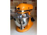 KitchenAid 150 Artisan 4.8L Stand Mixer, Tangerine