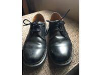 Black Dr Martens UK Size 7.