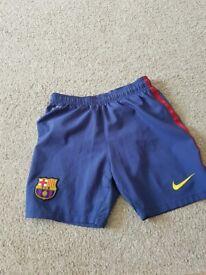 Manchester United Football Shorts 128-140 cm 8 -10 Yrs