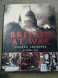 Britain At War hardback book
