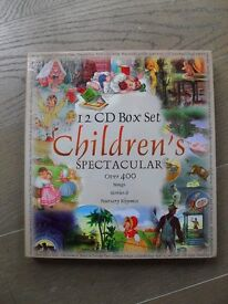 12 CD Box Set of children's Songs Stories and Nursery Rhymes