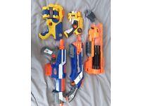 Bundle of Nerf Guns
