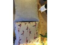 Ikea cushions with covers
