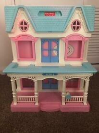 Vintage 90s Fisher Price Dolls House