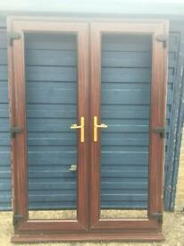 FRENCH DOORS BROWN
