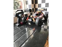 LIKE NEW HPI TROPHY 3.5 NITRO RC CAR