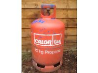 PROPANE 13KG EMPTY GAS BOTTLE £15 COLLECTION ONLY