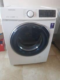 SAMSUNG QuickDrive WW90M645OPW Smart 9 kg 1400 Spin Washing Machine - White