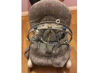 Chicco Stone Hoopla Bouncer - like brand new!