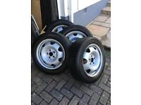 VW T5 transporter wheels and tyres