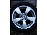 Alloys and Tyres, BMW E60 (2003-2010)