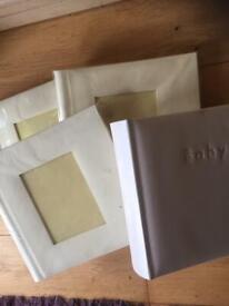 Unused scrapbooks/photo