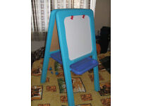 Double Sided Easel – Blue from ELC - suitable from 2 years, in perfect condition