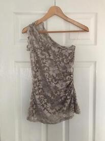 Lipsy top size 10