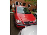 ***Vauxhall Zafira - cheap runner***