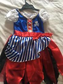 Pirate girl dress