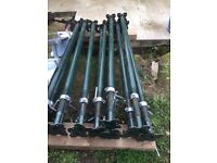 """Acrow Prop - Size No1 USED ONCE 5ft 9"""" to 10ft 3"""" (1753mm -3124mm) £25 Each"""