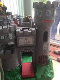 Fisher price castle and mens