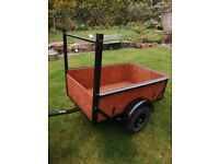 Small trailer, perfect for camping or small jobs