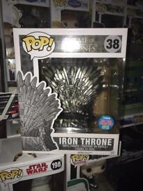 Iron throne funko