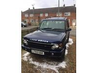 Land Rover discovery TD5 2003