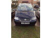 vw sharan 2006 auto 7 seater for £2799