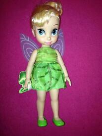 Tinkerbell Disneystore toddler doll