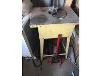 Sheppach spindle moulder single phase some tool