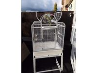 Bird cage suitable for small parrot ect