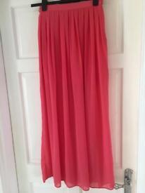 ASOS pink summer skirt