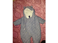 Snowsuit from baby GAP (age 0-3 months)