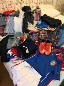 Boys Age 4/5 bundle + football boots