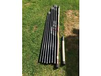 Shimano Exage BX Pole 14.5 m with 8 top kits