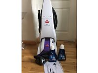 Bissell oxy powerwash carpet cleaner been used once