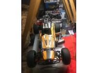 Yama 1/5 scale petrol buggy rc car radio control