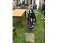 Ladies RH golf clubs