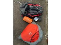 Camping equipment job lot