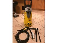 Karcher K6.91 Pressure Washer (used once) and 18 litres of Karcher Universal Cleaning Fluid