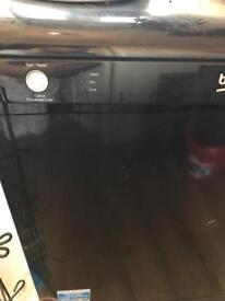 Black beko dishwasher model DSFN 1534B