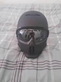 Ruroc snowboarding helmet