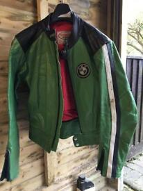 Vintage Retro BMW Motorcycle Jacket