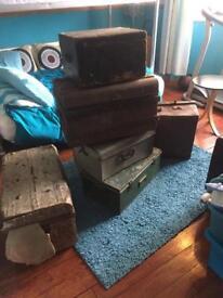 Antique Boxes & Trunk