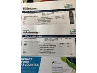 2 x Hollywood Vampires Tickets - Glasgow 19th June